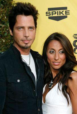 LENGE SAMMEN: Chris Cornell og Vicky Karayiannis var gift i 13 år og har to barn på 11 og 12 sammen. Her i 2007.