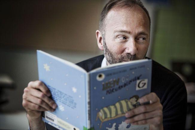 FORFATTER: Tidligere utdanningsminister Trond Giske har skrevet bok om frafall i skolen. Men han var lite interessert i å lytte til Molde Videregående Skole, ifølge rektor Oddvar Overå.