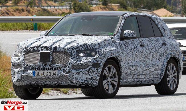 RØFFERE: Når Mercedes om et par år lanserer en ny generasjon GLE, blir det en røffere modell enn dagens.