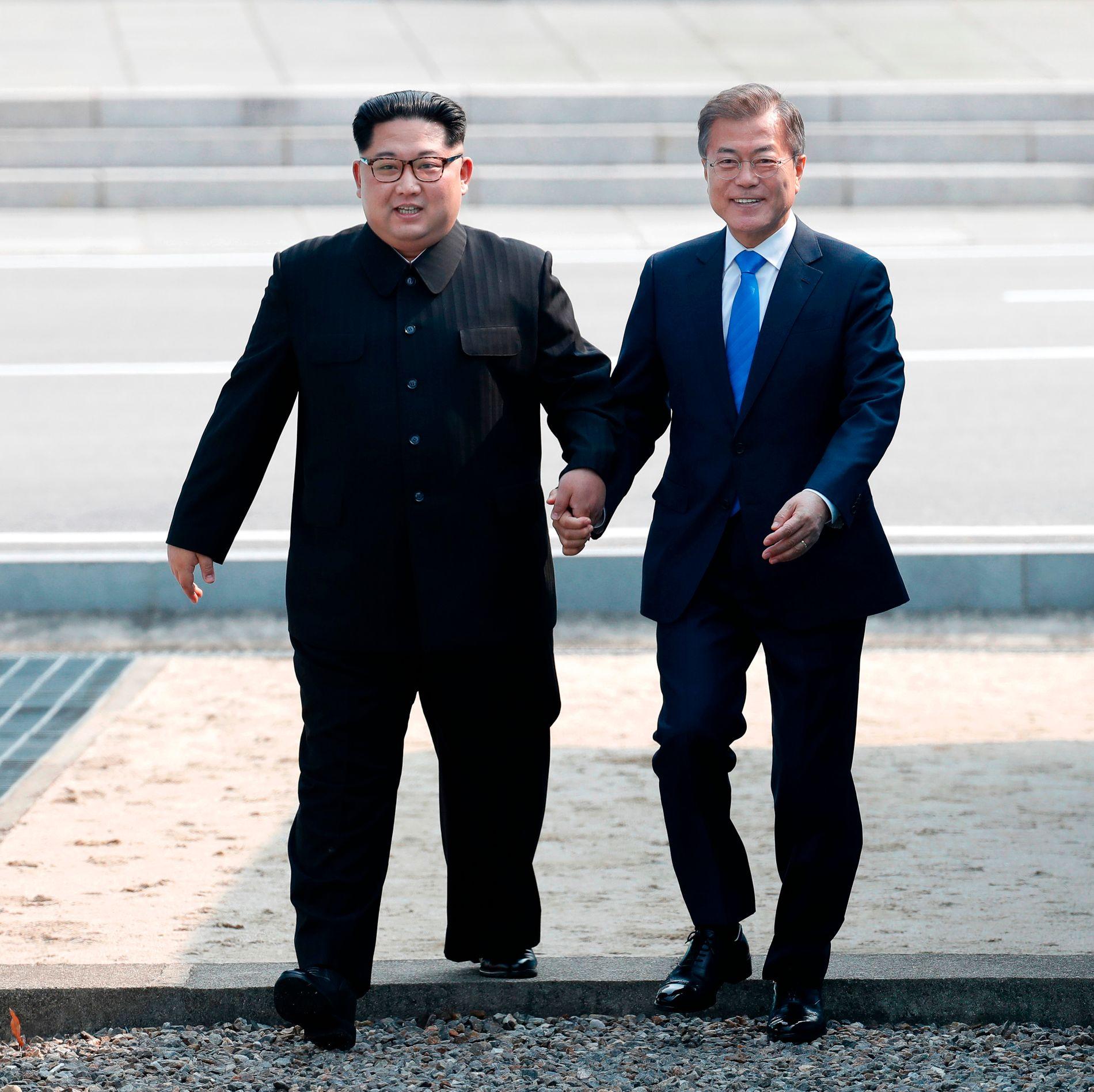 VIKTIG MANN: Sør Koreas president Moon Jae-in får mye av æren for å loset Kim Jong-un inn på den internasjonale arenaen.