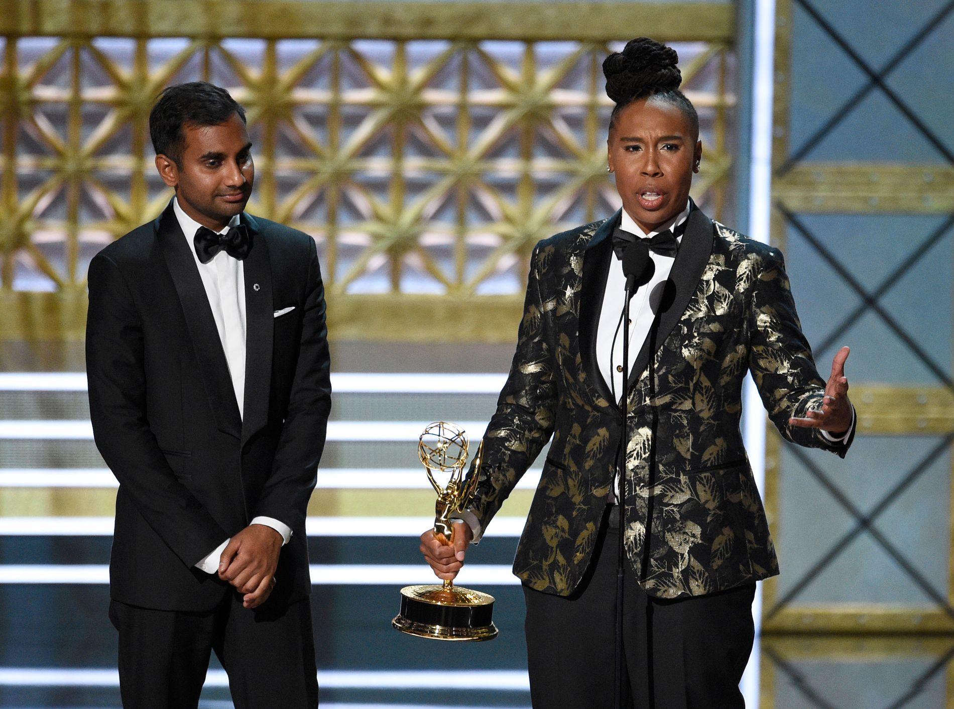 HISTORISK: Lena Waithe er den første afroamerikanske kvinnen som har vunnet pris for beste manus til komiserie.