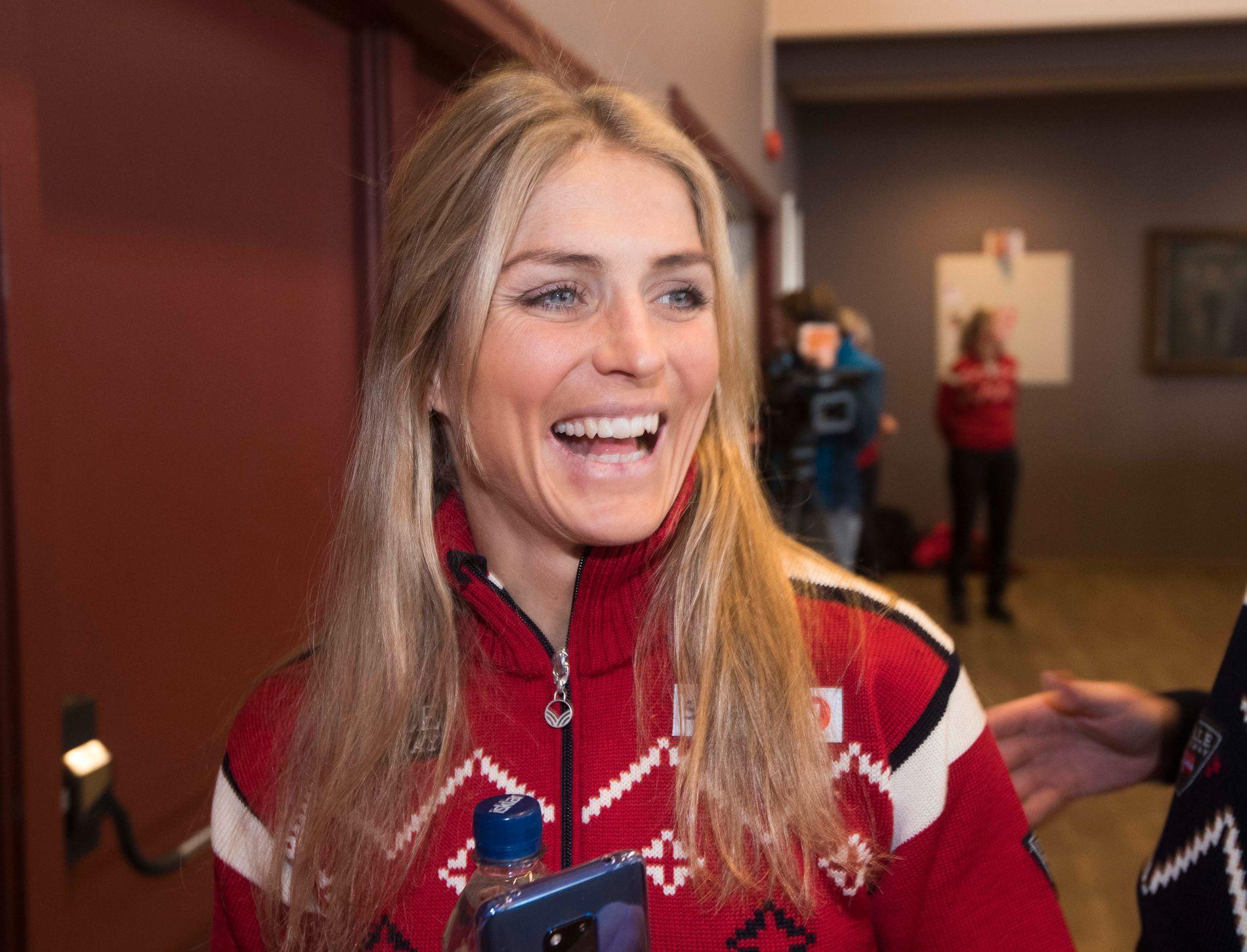 Therese Johaug er optimistisk om egne sjanser fremover.