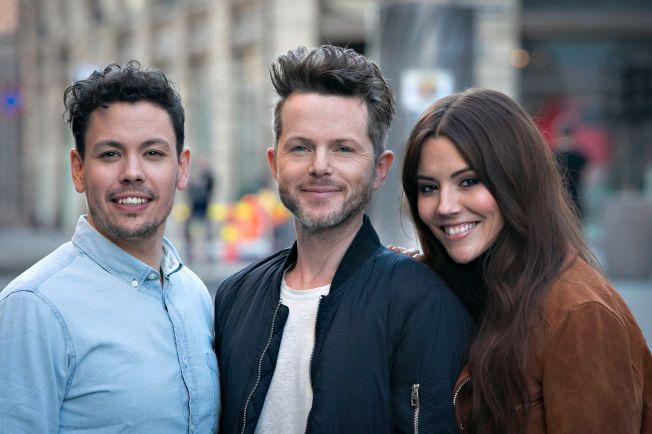 FÅR BESTEMME: Fra venstre: Cato Sundberg, Espen Lind og Marion Ravn.