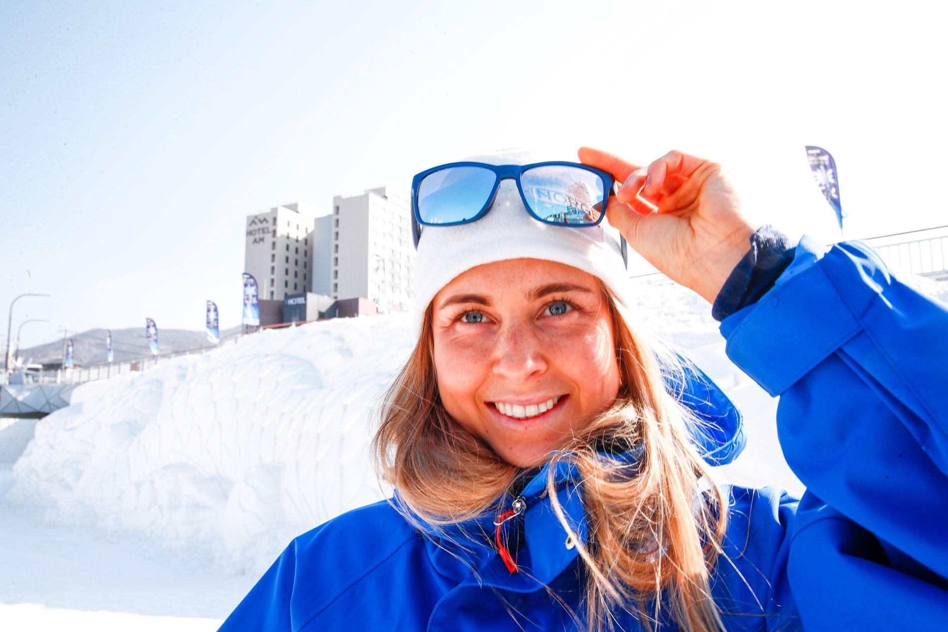 SMILET TILBAKE: Etter det hun beskriver som en «skikkelig bra sommer» er Ingrid Landmark Tandrevold klar for den kommende sesongen.