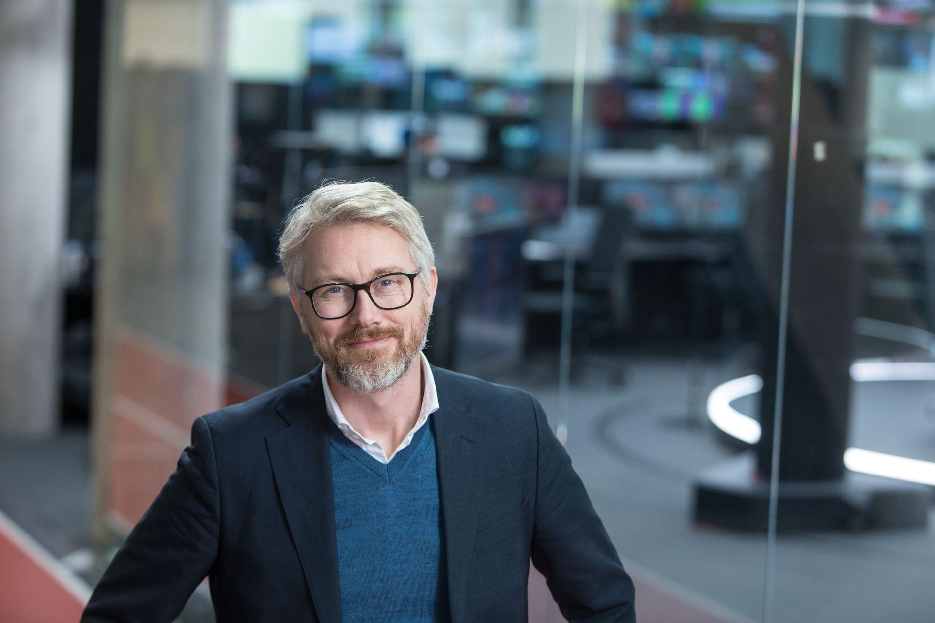 VIL HA MER PENGER: TV 2-sjef Olav T. Sandnes bruker prisen på en kroneis som et bilde på hvor mye mer vil kanalen vil ha betalt fra Canal Digital