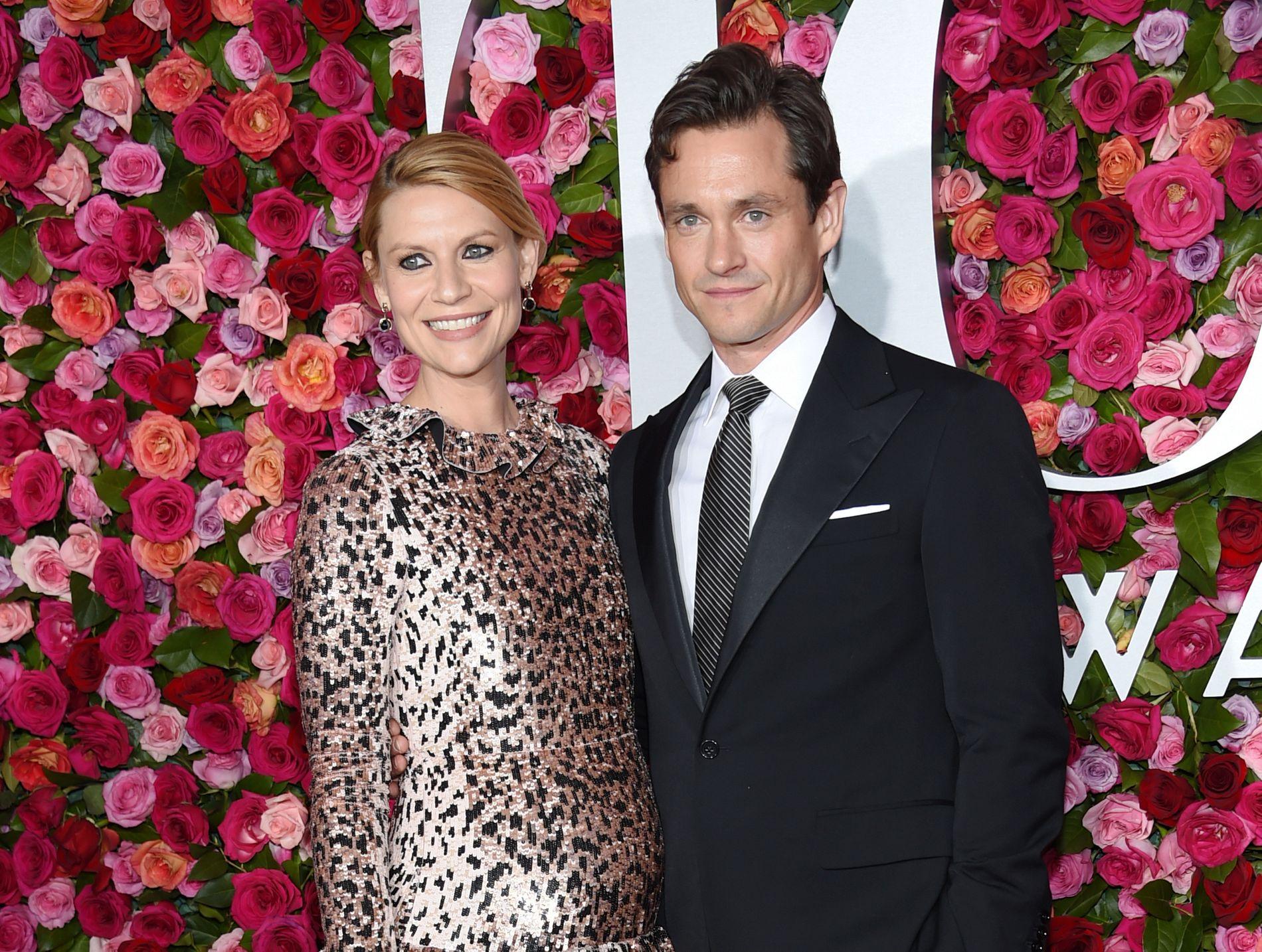 FIKK SØNN: Claire Danes og Hugh Dancy, her fra Tony Awards i juni, fikk mandag sitt andre barn sammen.