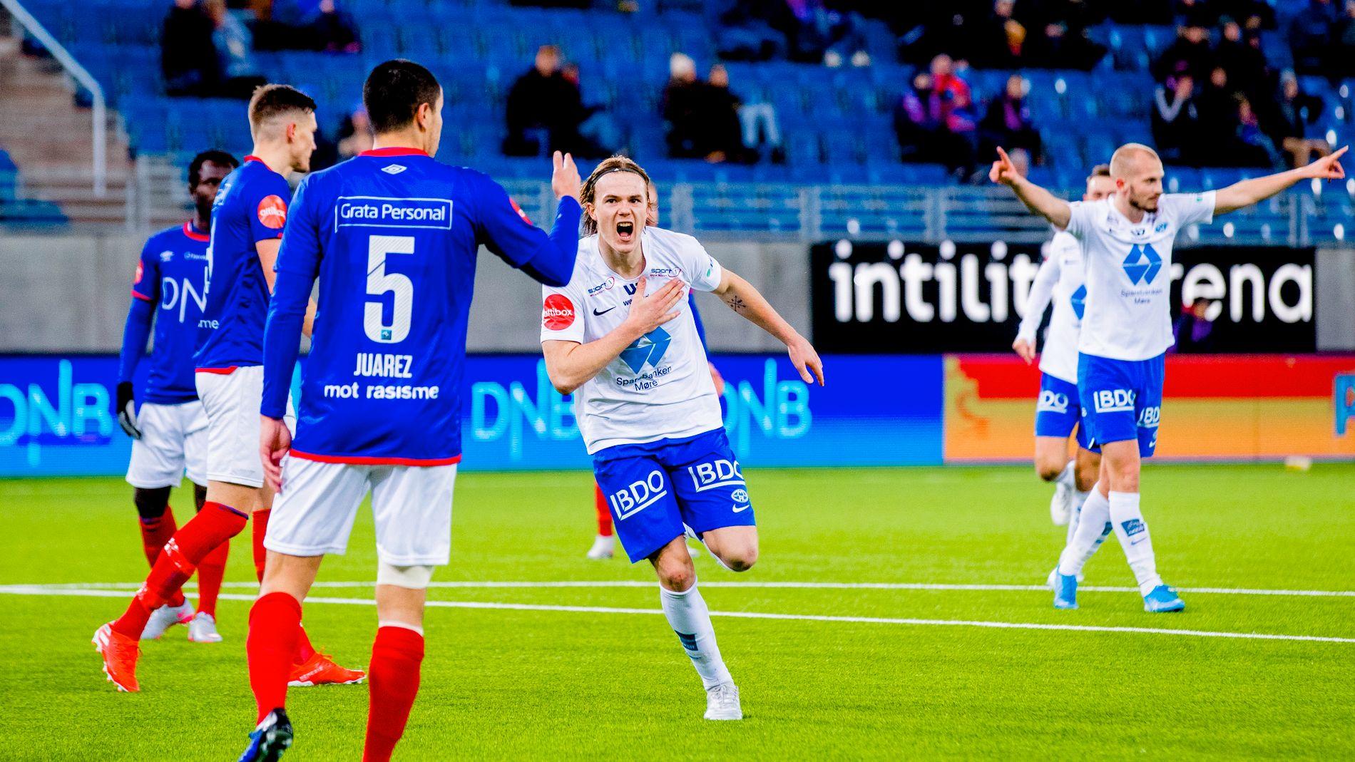 Molde stenger trening VG Nå: Sportsdøgnet