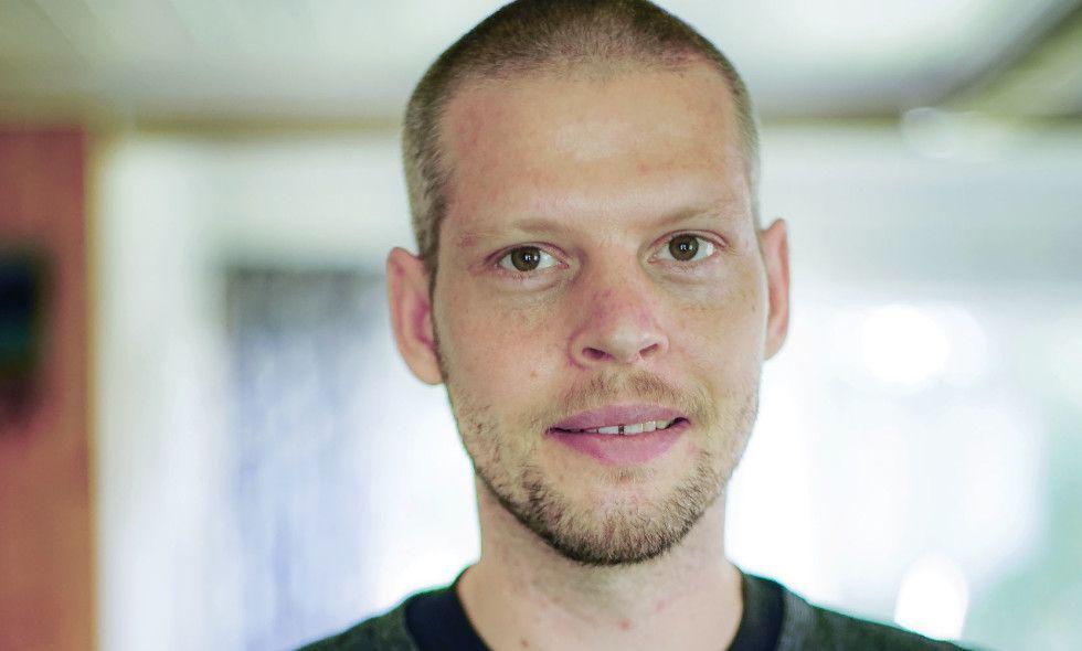 SKREVET UT: Joshua French ble for nærmere tre uker siden skrevet ut fra sykehuset. Dette bildet av ham er tatt 10.august.
