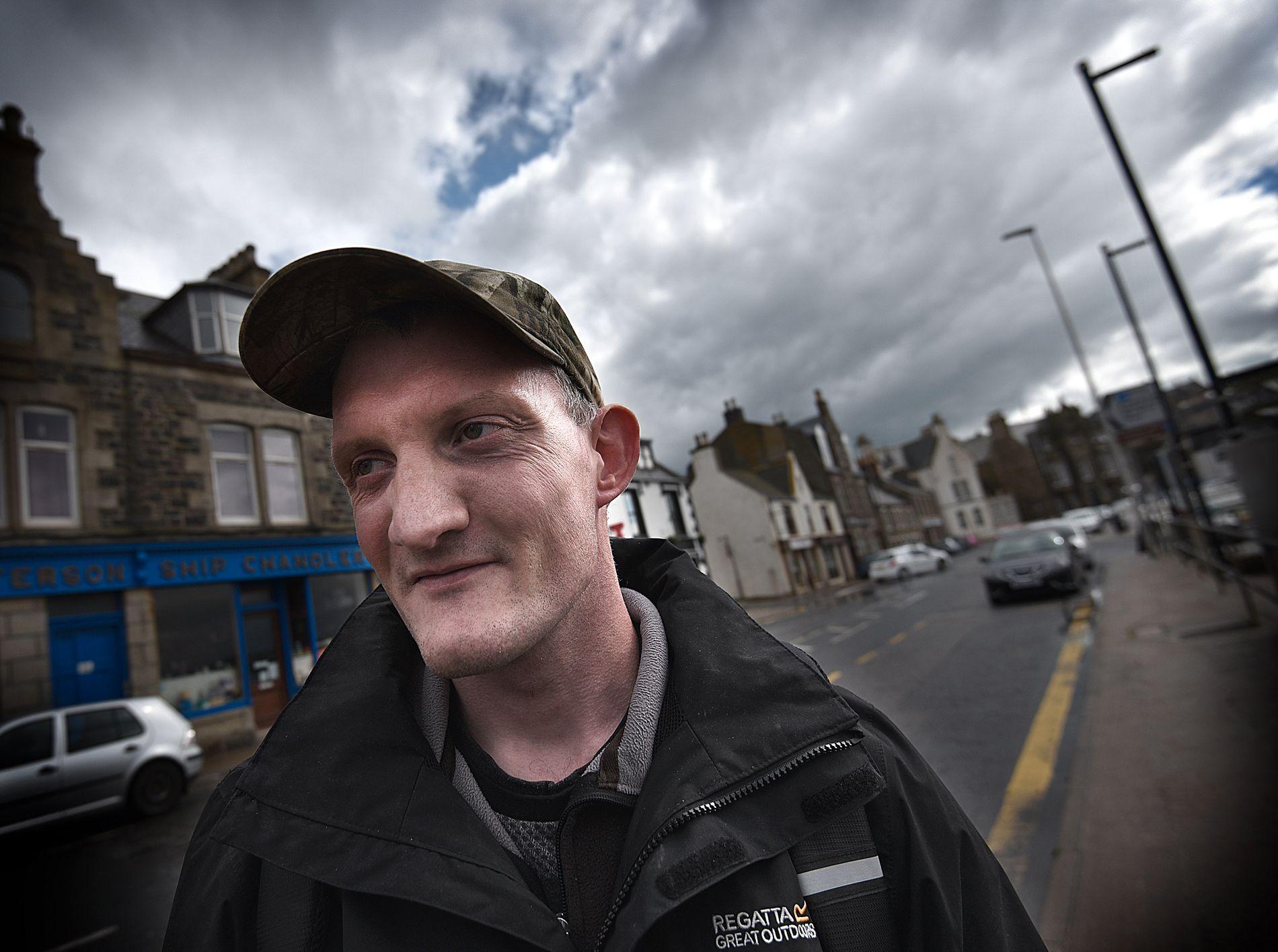 BEST Å BLI: 30 år gamle Callum McDonald fra MacDuff mener i likhet med unge flest i Skottland at Storbritannia bør bli værende i den europeiske unionen.