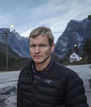 RASFRYKT: Geolog Lars Harald Blikra sier at raset kan komme i løpet av det neste døgnet.