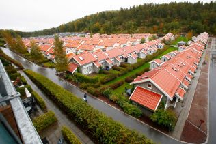 «SMITHS VENNER»: Oslofjord Convention Centre kan ta opp til 1000 asylsøkere. Det brukes vanligvis av Brunstad Christian Church, bedre kjent som «Smiths Venner». Senteret er et privat foretak.