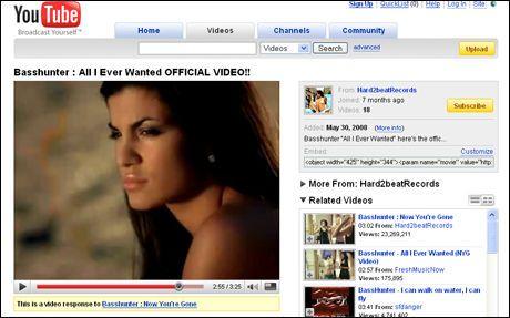 HIT: Basshunter og videoene med Aylar går varmt på YouTube. Foto: Faksimile: YouTube