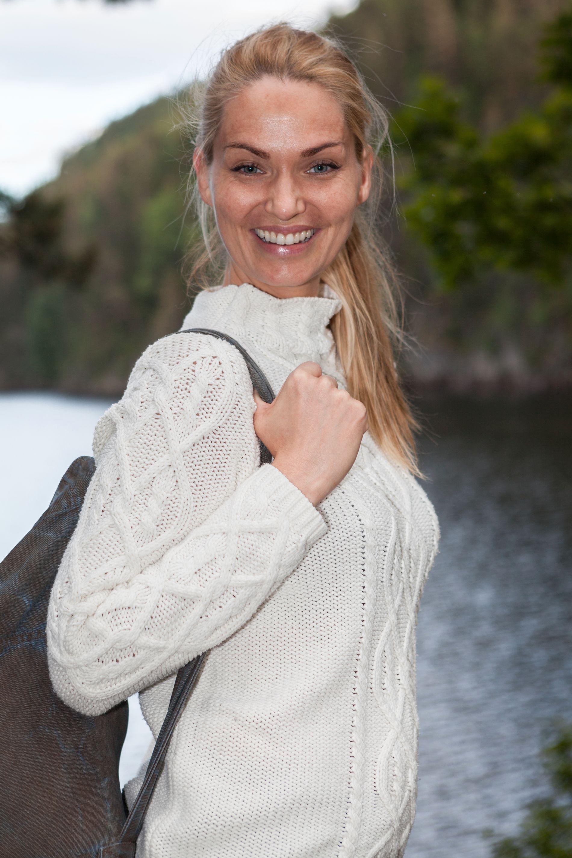 FLYTTER INN: Marna Haugen Burøe er en av utfordrerne i «Farmen kjendis».