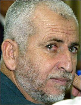 BER STYRKENE KJEMPE: Palestinernes innenriksminister Saeed Seyam fra Hamas ba torsdag regjeringens sikkerhetsstyrker om å kjempe mot de israelske styrkene på Gazastripen. Foto: REUTERS