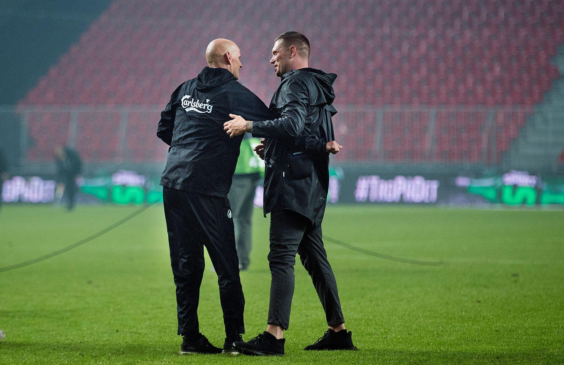 VIDERE: Ståle Solbakken etter at FCK København slo ut Atalanta av Europa League-kvalifiseringen.