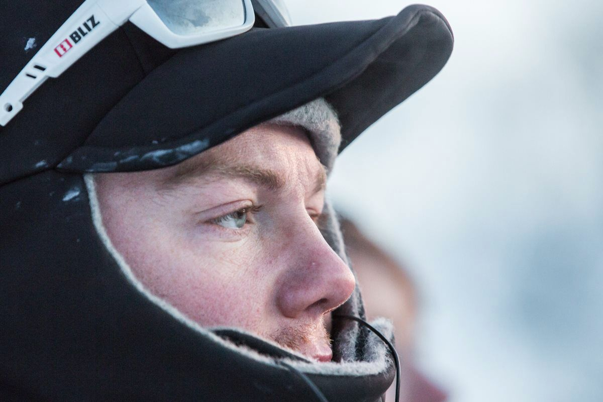 SNUDDE: Ola Brennodden Sunde fra Folldal sier han ble møtt av en hvit vegg over fjellet. Han valgte å snu.
