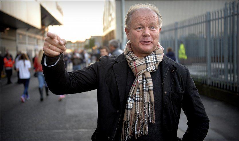 DJURGÅRDEN-SJEF: Per-Mathias Høgmo har stor suksess i Sverige. Her er han utenfor White Hart Lane før Tromsøs bortemøte med Tottenham i forrige uke. Foto: Bjørn S. Delebekk, VG