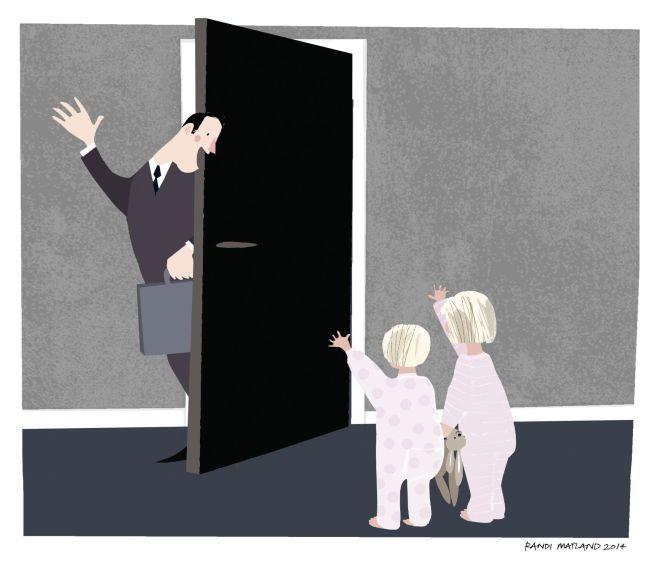 LITE OMTALT: – Hvor mange arbeidstimer går tapt når foreldrene pendler mellom jobb og barnas avtaler, spør Sanna Sarromaa i denne kronikken.
