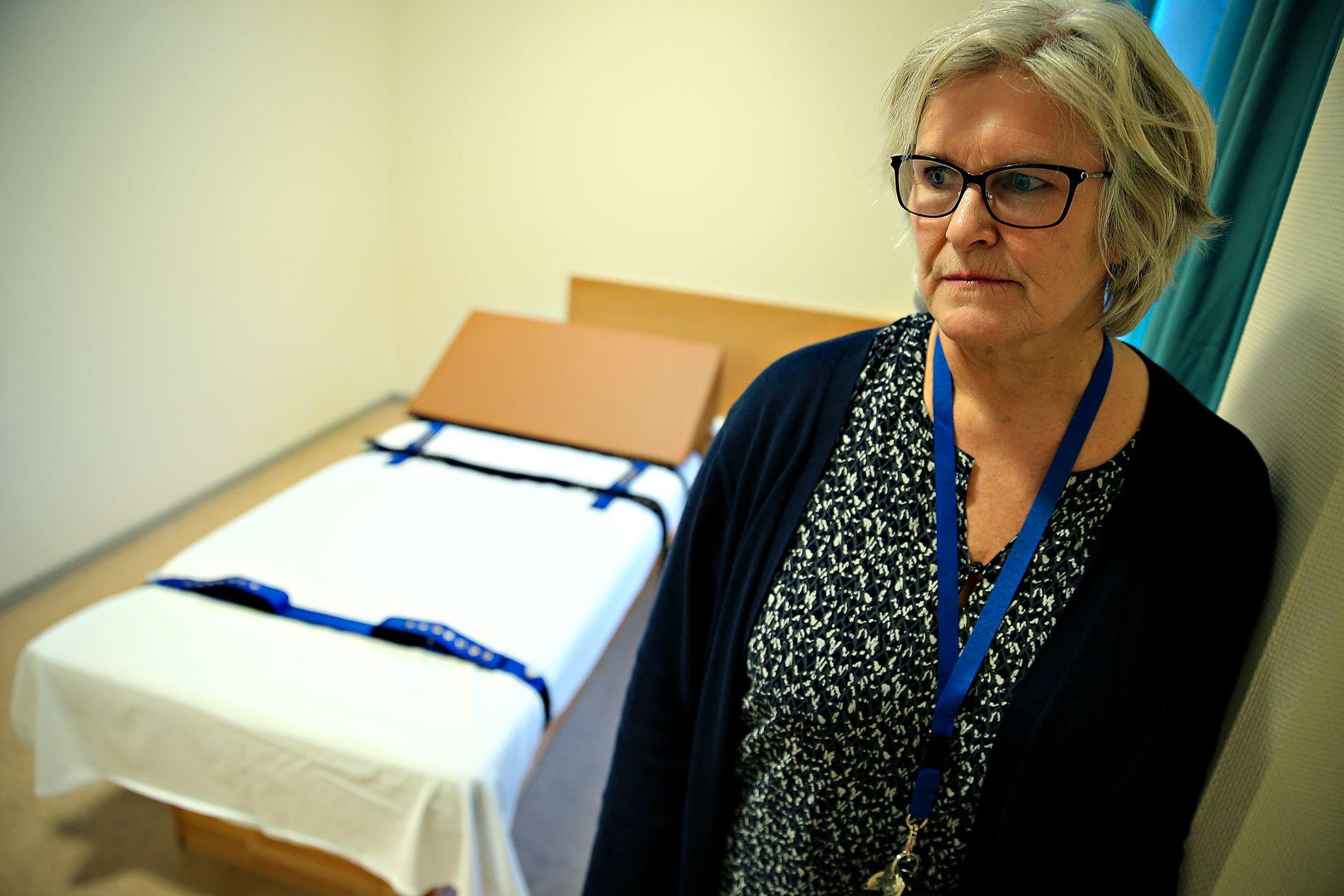 KRITISK: Klinikksjef ved Sandviken sykehus, Kristin Jordheim Bovim.