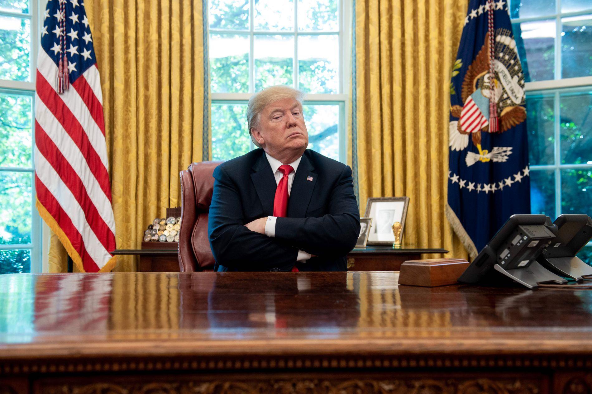 RIKSRETT: Vil Kongressen gå til riksrett mot Donald Trump i 2019?