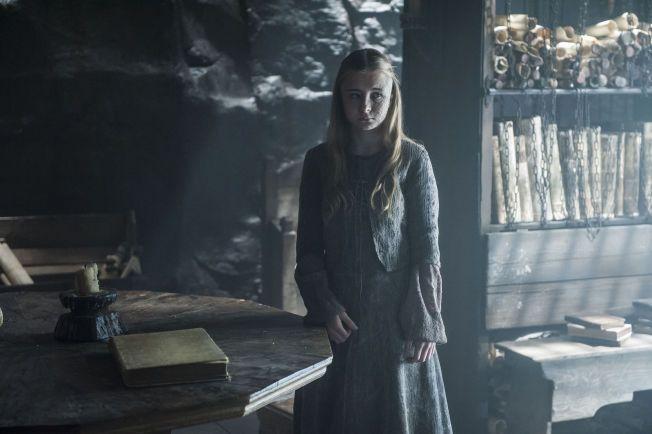 MÅ LIDE: Stannis' datter Shireen får føle konsekvensene av Melissandres råd.