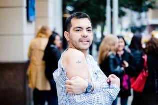 Sergio Carrizo (38). VG møter og portretterer argentinske fans i Buenos Aires som jakter etter a-Ha.