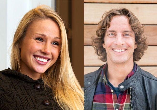 MOR OG FAR: Rachel Nordtømme og André Villa.