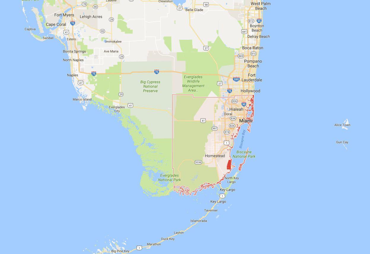 Det er til dette området amerikanske smittevernsmyndigheter advarer gravide kvinner mot å reise. Det skal være snakk om Miami-Dade-County, som er et fylke sydøst i den amerikanske delstaten Florida.