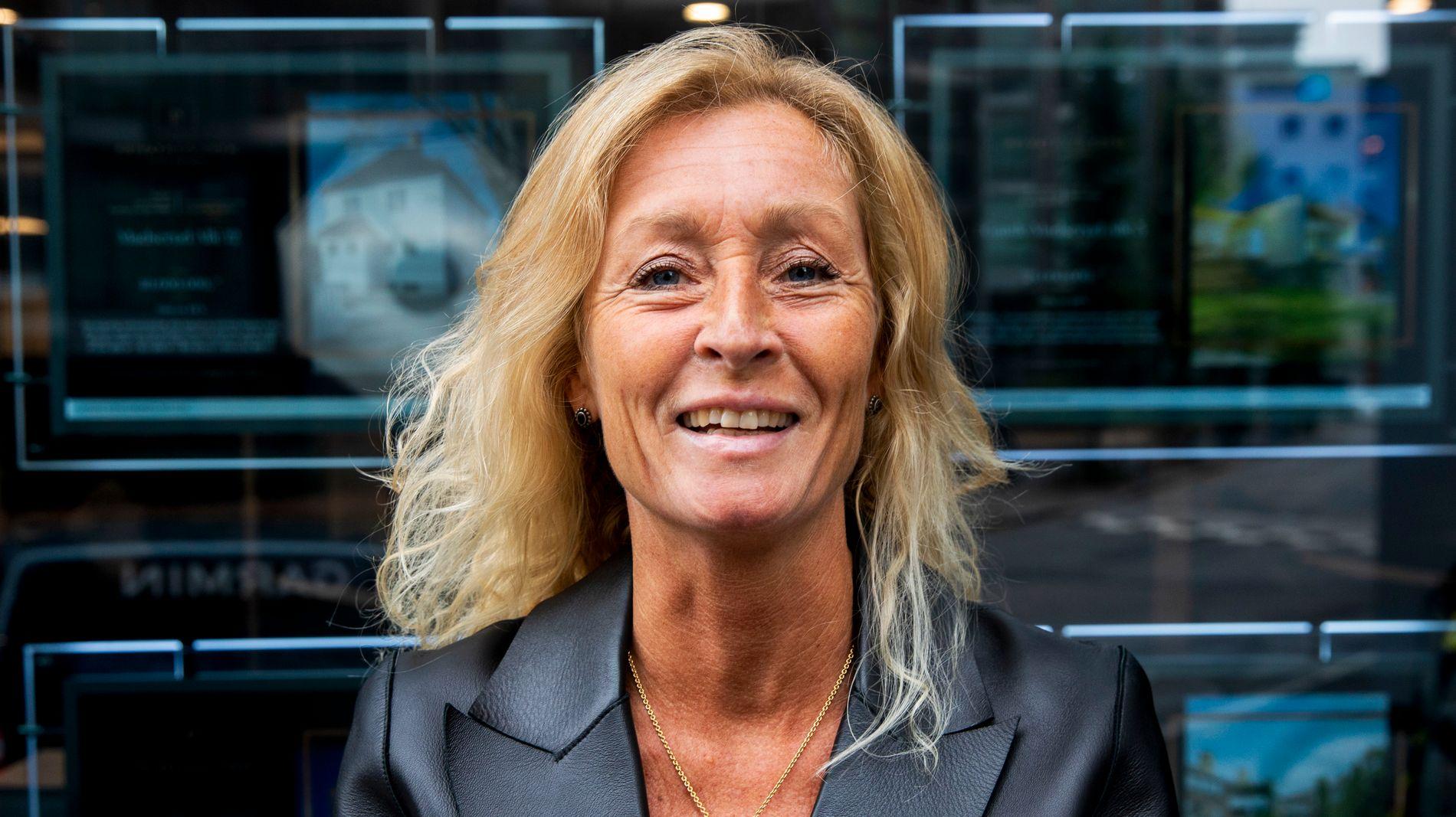 TROR BOLIGMARKEDET TAKLER FLERE HEVINGER: Privatmegleren-direktør Grethe Wittenberg Meier.
