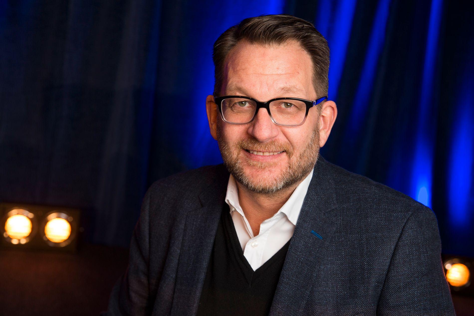 FERDIG I TV-HUSET: Discovery-sjef Harald Strømme.