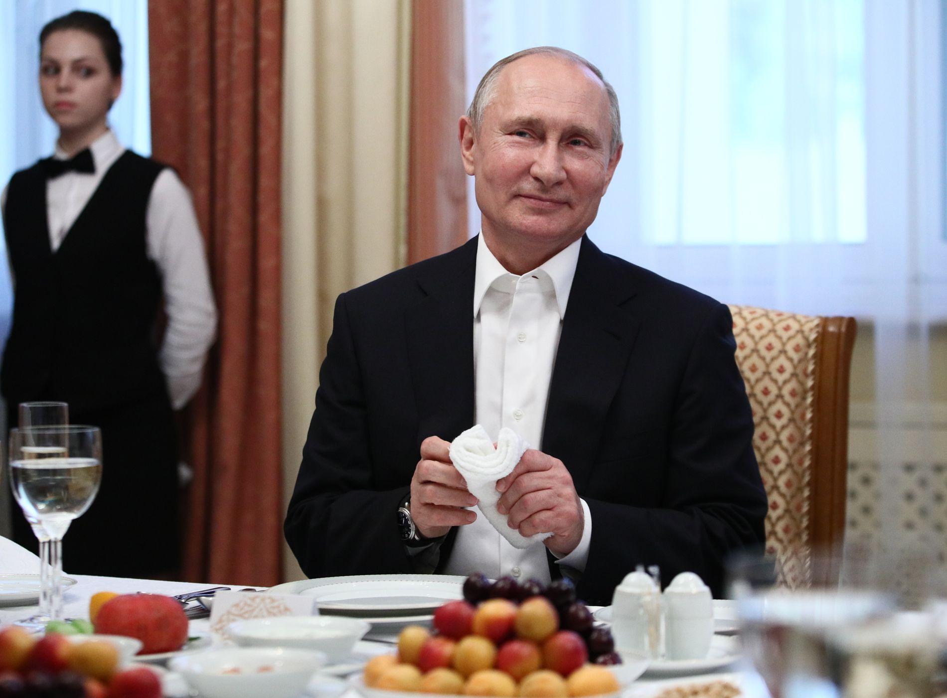 MEKTIG: Russlands president Vladimir Putin.