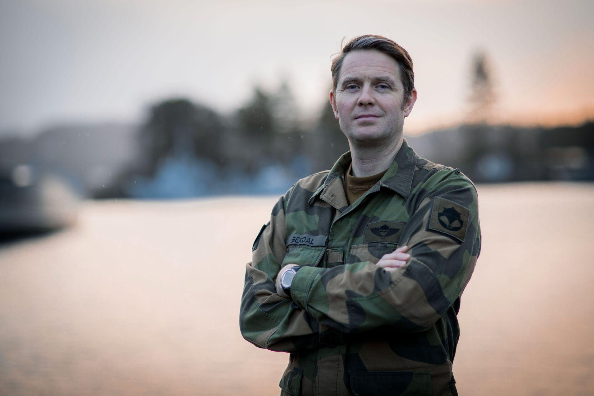 SJEF MINEDYKKERKOMMANDOEN: Orlogskaptein Bengt Berdal
