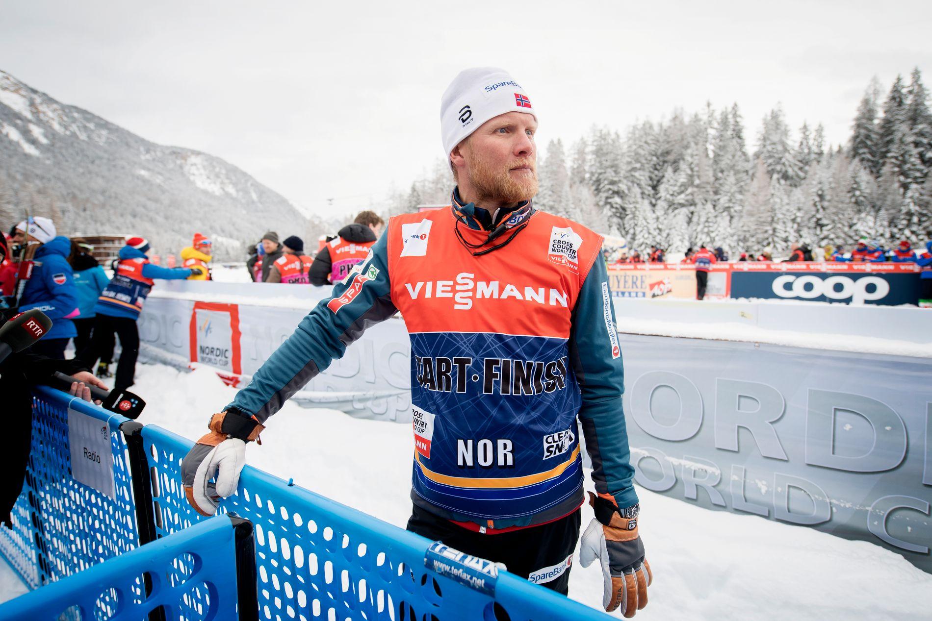 FERDIG: Landslagstrener Tor Arne Hetland slutter i Norges Skiforbund.