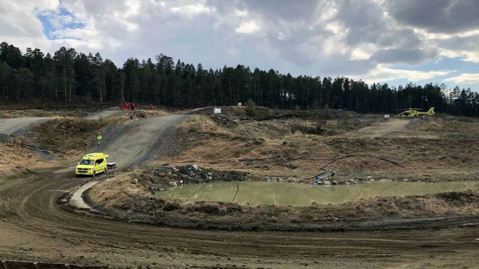 OMKOM: Den seks år gamle gutten fra Malvik døde etter å ha blitt truffet av en motocrossyklist under et treningsarrangement i Oppdal søndag.