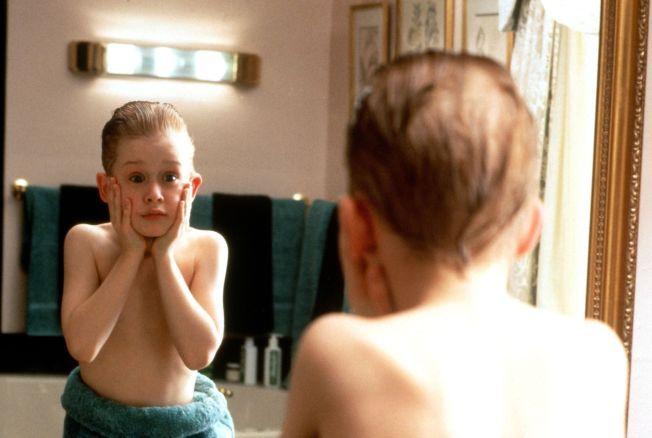 UNG OG USKYLDIG: Culkin som Kevin McCallister.