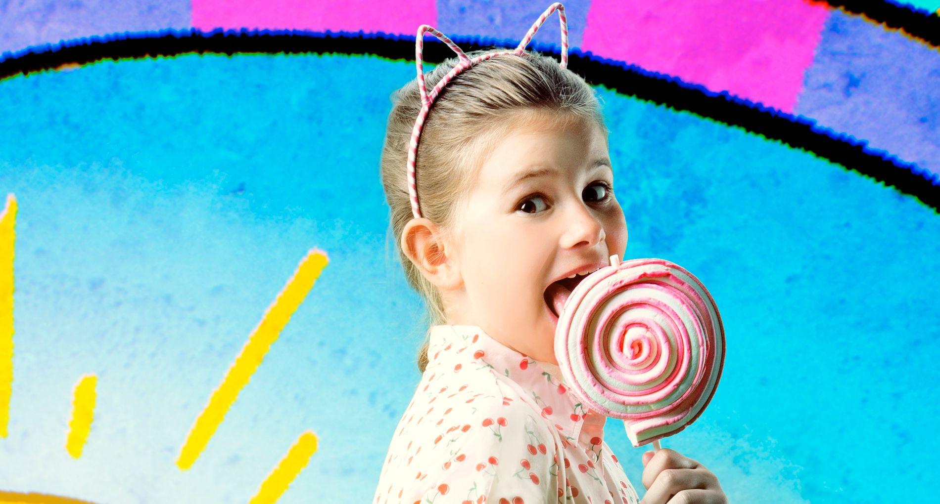 SLIPPER MUSIKK: Emma Gunnarsen fyller ti år på søndag, og feirer med å slippe låten «Fått deg på hjernen»