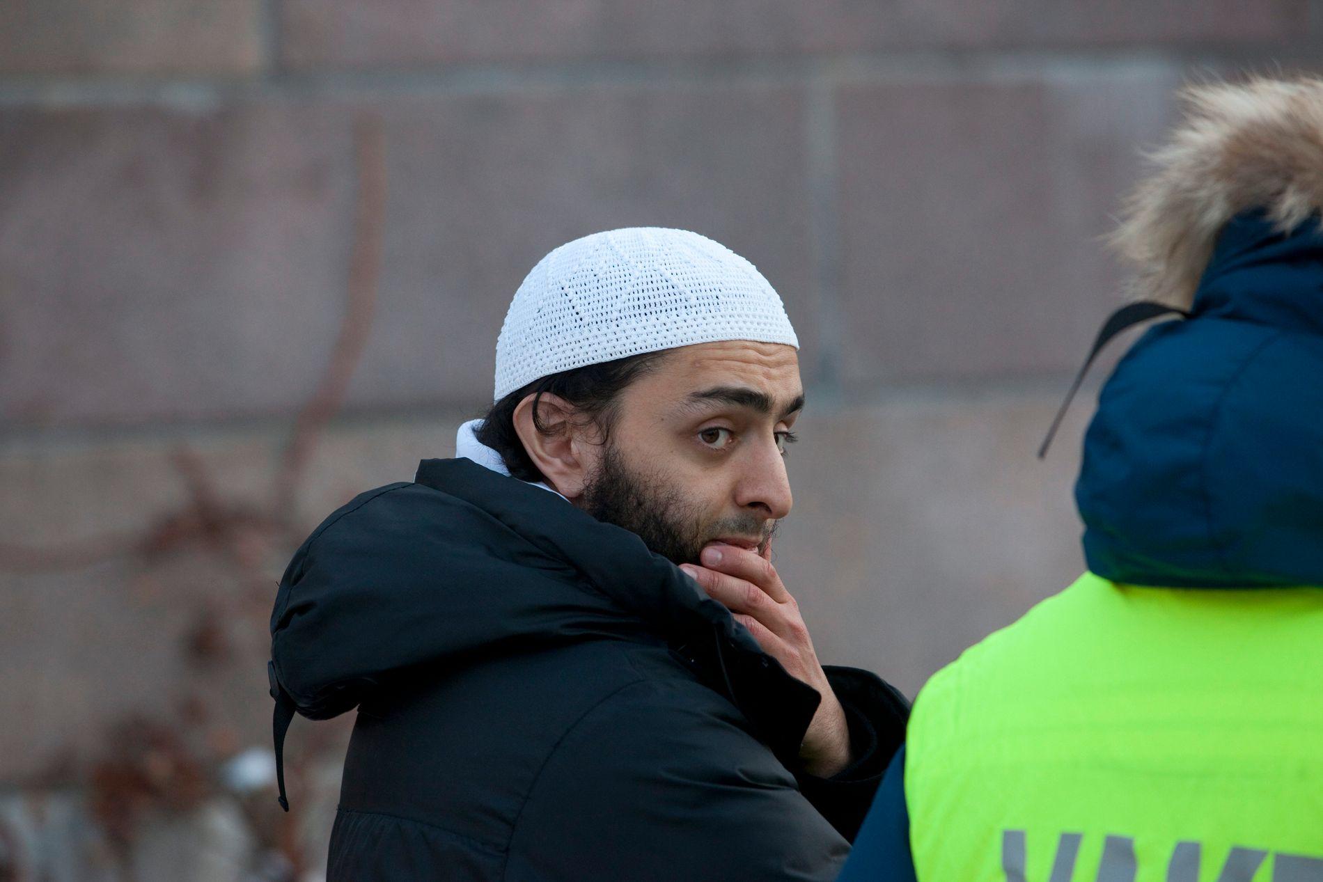 TILTALT: Mohyeldeen Mohammad må onsdag møte i rettssal 719 i Oslo tingrett der han blant annet er tiltalt for bensintyver.