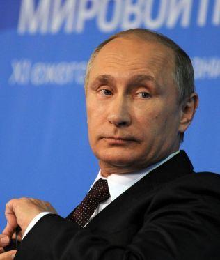 MISTER GASSMAKT: Russlands president Vladimir Putin.