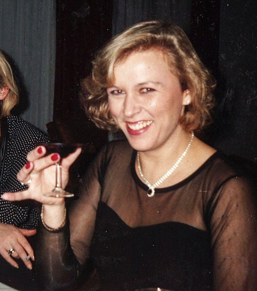 LYKKELIGE DAGER: Bilde av Monika Strand fra 1992. På dette tidspunktet var hun samboer med Eirik Jensen.