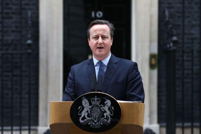 STRI TØRN: David Cameron kom hjem fra Brussel med en EU-avtale som var nokså fjern fra den reformpakken han i utgangspunktet sa var avgjørende for fortsatt britisk medlemskap. Lørdag annonserte han at Storbritannia skal holde folkeavstemning om EU 23. juni. Nå venter en tøff valgkamp for Cameron og ja-siden.