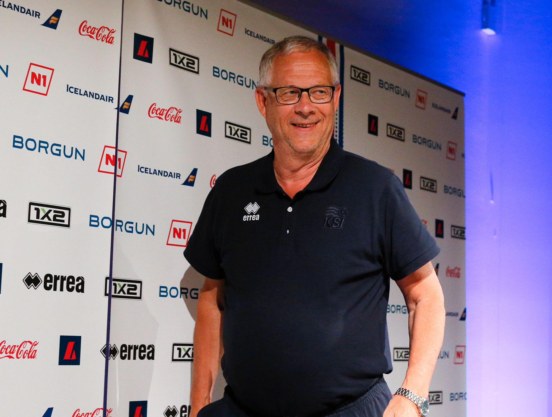 MESTERSKAPS-EKSPERT: Lars Lagerbäck hadde enorm suksess med Island under sommerens EM.