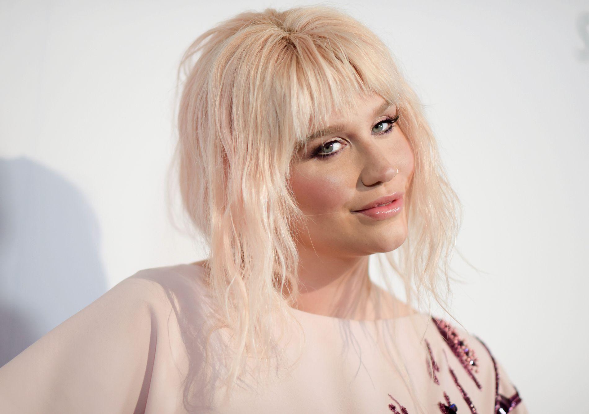 VELDEDIG: Kesha på en veldedighetsgalla i Los Angeles for «To the Rescue: Saving Animal Lives» i mai 2016.
