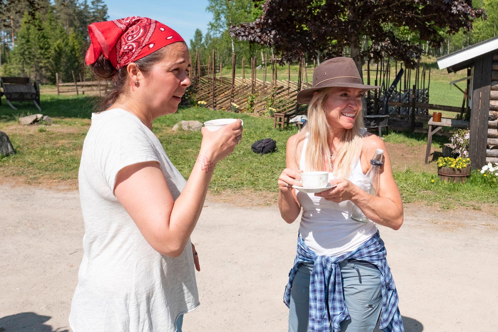 KRITISK: Trude Mostue har allerede sett seg lei av «Farmen kjendis», og vil ikke se noe mer på programmet.