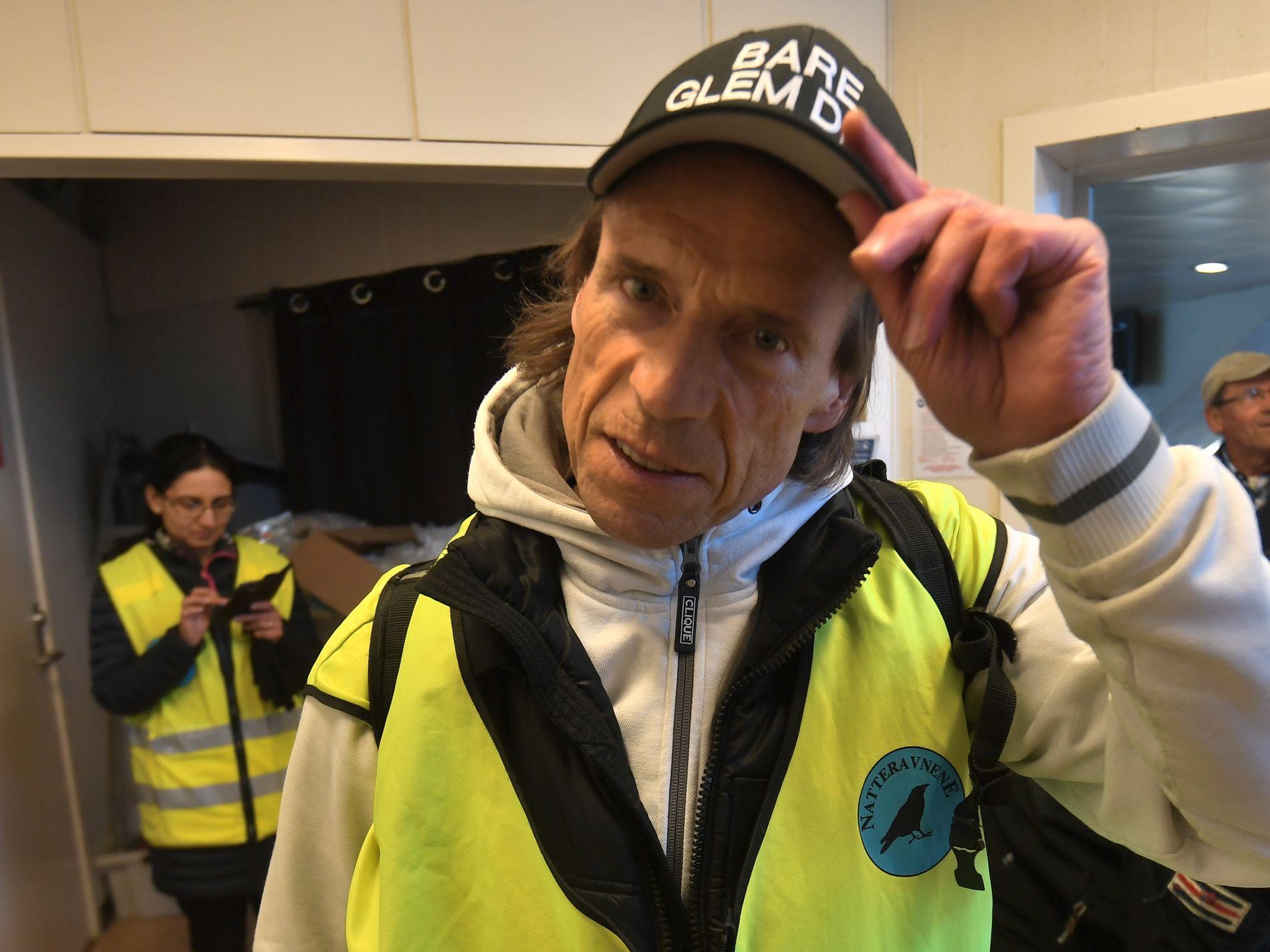 KJENT ANSIKT: Ap-politiker Jan Bøhler er ofte med å gå natteravn på Vestli og Stovner. Han er kjempefornøyd med oppmøtet i dag, forteller han til VG.