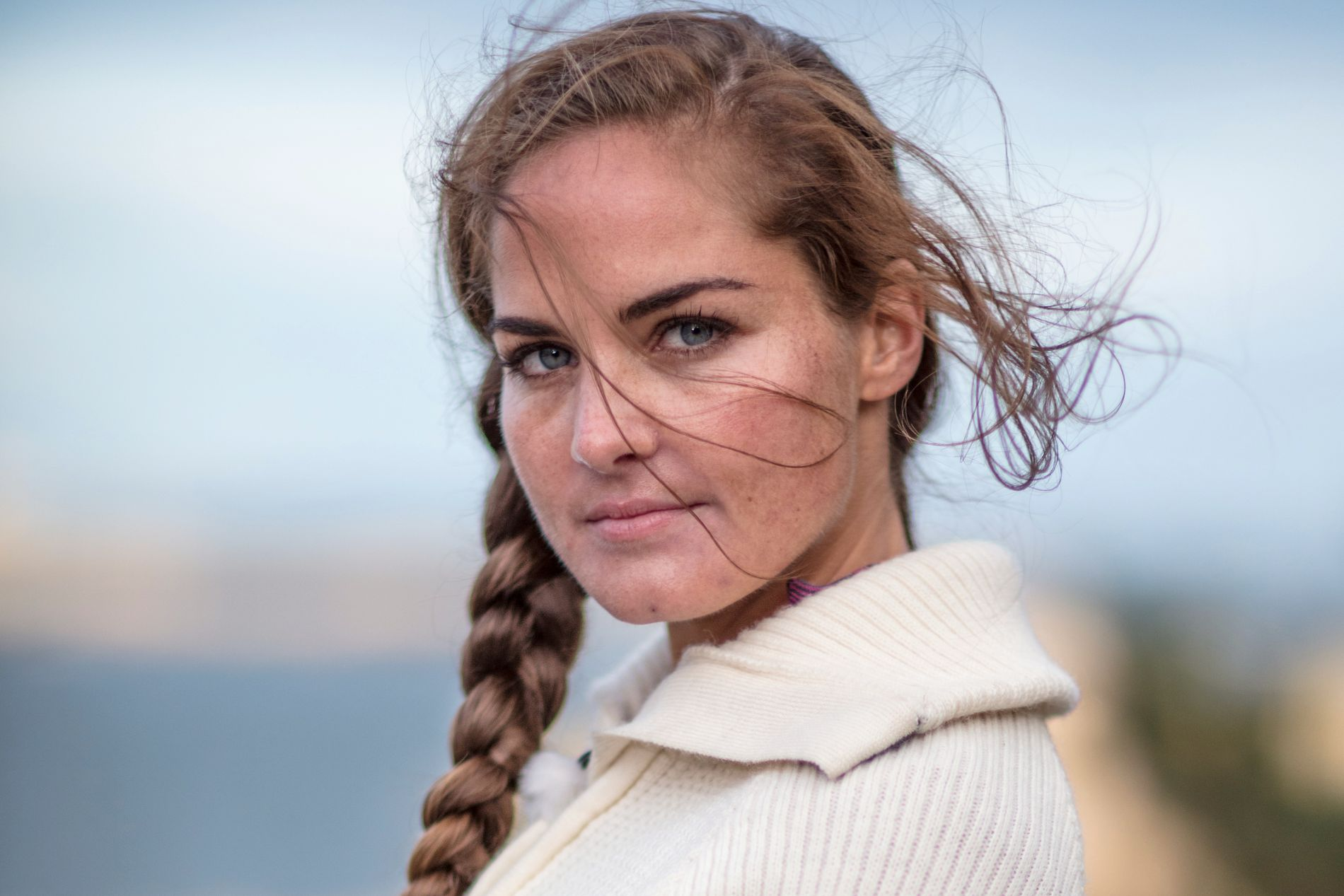 UTE: Karoline Røed.