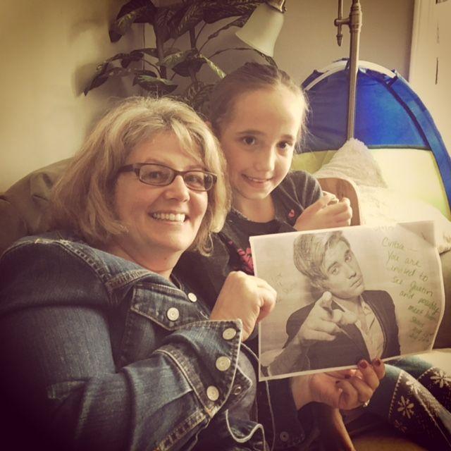 AVLYSTE: Cintia Balogs (8) skulle fly ned til New Jersey for å dra på Justin Bieber-konsert. Foto: SHERI KNAPP