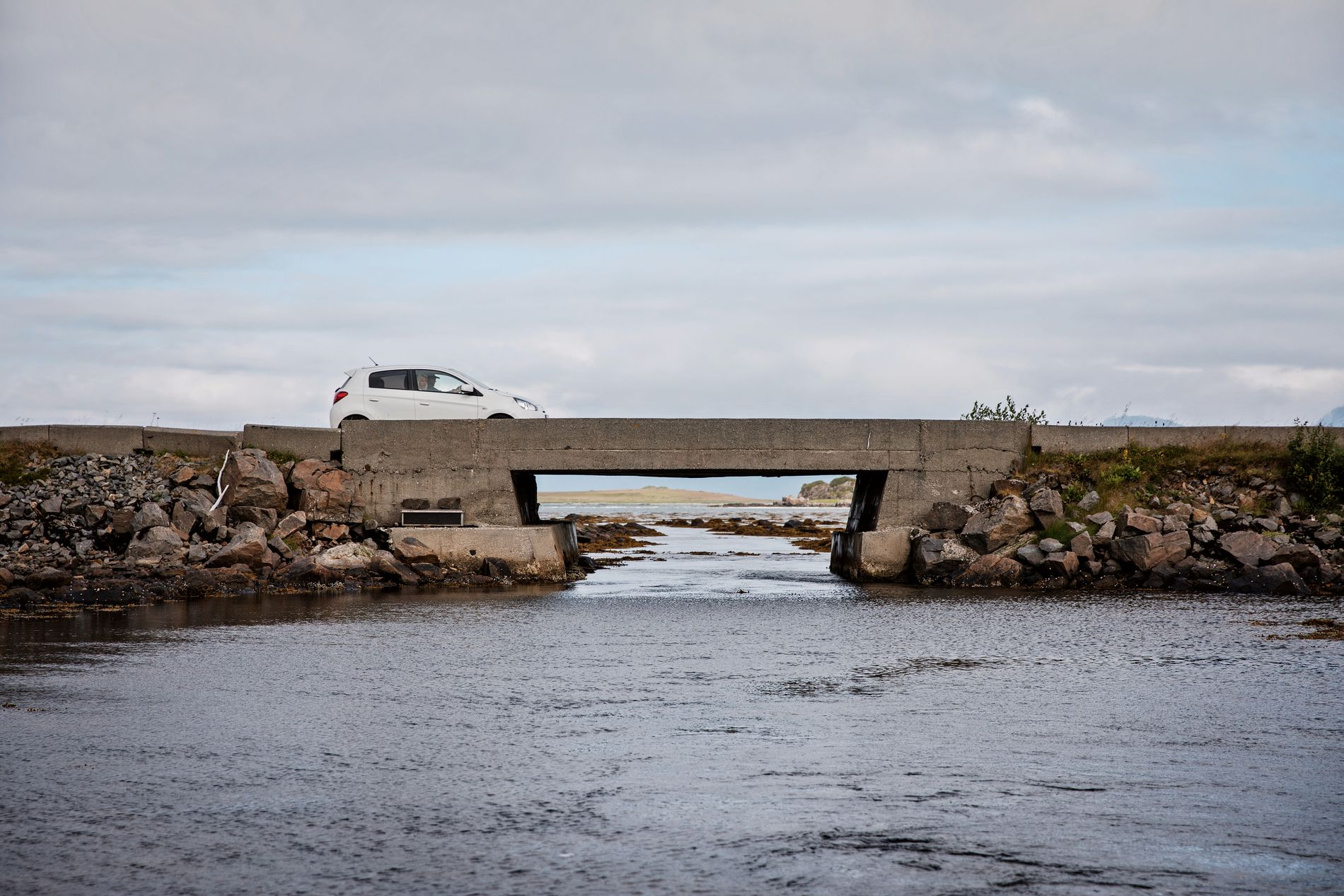 NORGESREKORD: Broen Strauman 3 i Nordland. Foto: JØRGEN BRAASTAD, VG