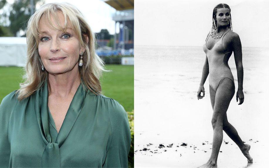 JUBILANT: 36 år skiller disse to bildene. T.v. ser vi Bo Derek på et sportsarrangement i Tyskland nylig, mens bildet til høyre er fra kultfilmen «Drømmekvinnen 10» (1979).