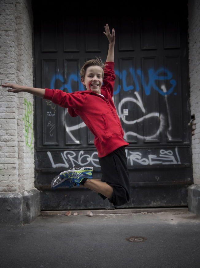 TALENT: Kevin Haugan, unggutten som danser og spiller hovedrollen i Billy Elliot ble headhuntet til rollen FOTO:TERJE BRINGEDAL/VG