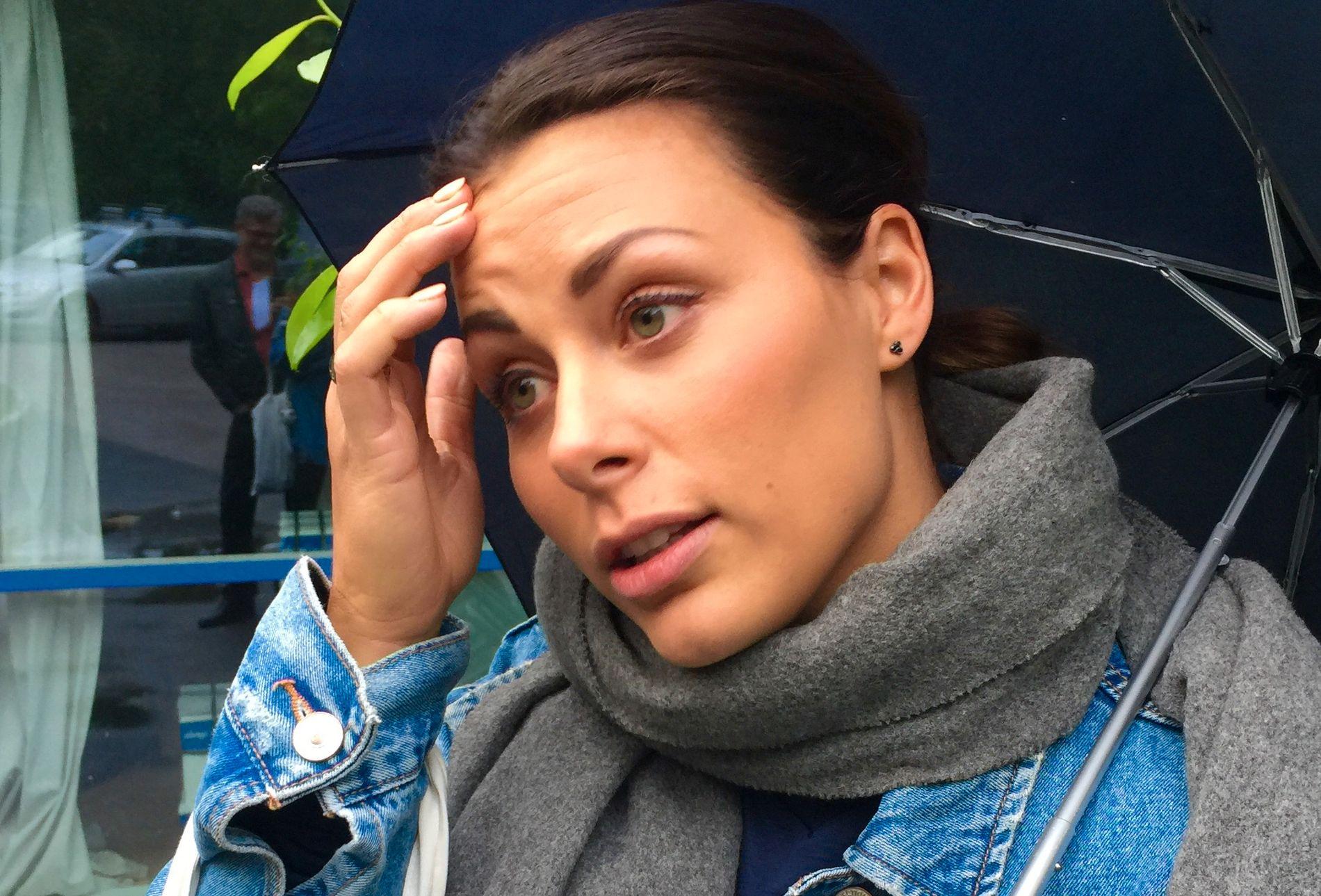 LANGT NEDE: Nora Mørk har hatt det vondt siden private bilder av henne havnet på avveie.